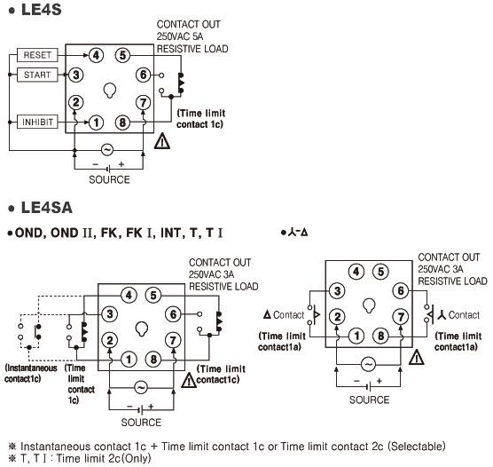 Таймер autonics le4s інструкція